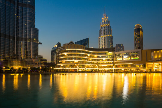 The Dubai Mall is the largest mall in the world by total area