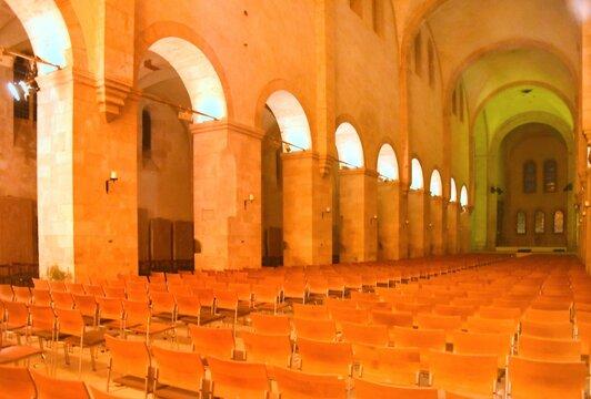 Konzertbestuhlung auf Kloster Eberbach