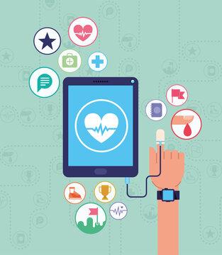 health devices card