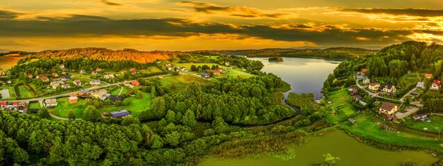 Szwajcaria Kaszubska-jezioro Ostrzyckie