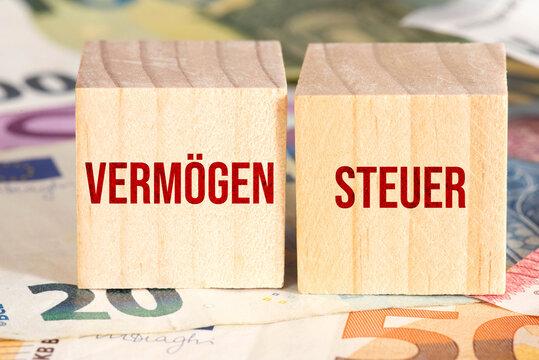 Euro Banknoten und Vermögensteuer