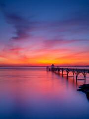 Clevedon Pier Pastels