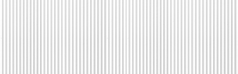 Obraz Panorama of White Corrugated metal background and texture surface or galvanize steel - fototapety do salonu