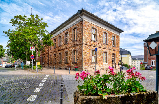 Cityscape of Montabaur, Germany
