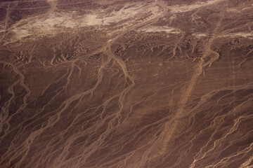 the surface of the earth from a height, the mess of egypt