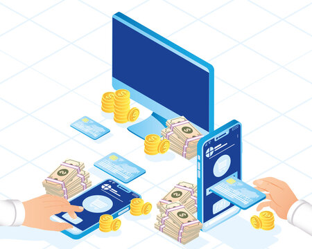 Payment online icons