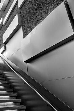 Fine Art Modern Architecture Stairway