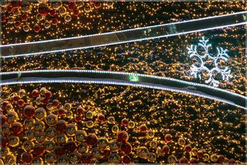 Boże Narodzenie, ozdoby uliczne