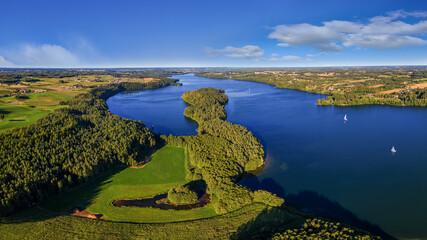 Fototapeta Kaszuby-jezioro Raduńskie Dolne obraz