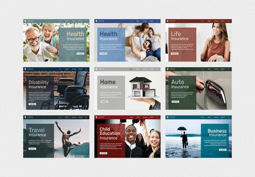 Insurance Layout for Blog Banner
