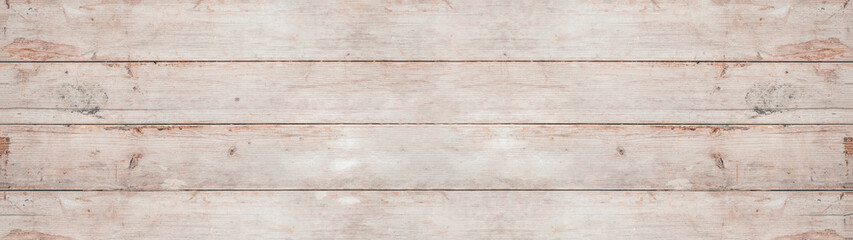 Fototapeta old white painted exfoliate rustic bright light wooden texture - wood background banner panorama long shabby obraz