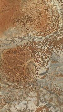 Rusted Metal Burned Texture