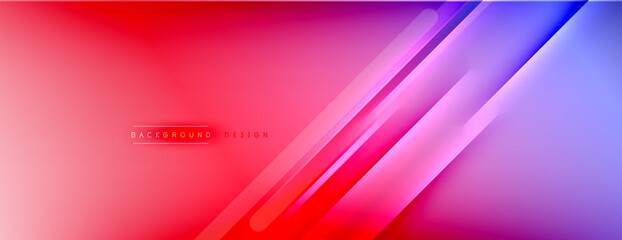 Obraz Abstract background. Shadow lines on bright shiny gradient background. - fototapety do salonu