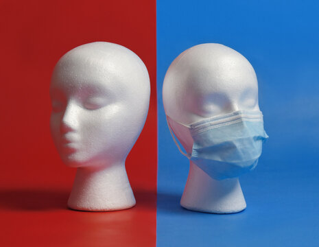 Political Party Division on Masks