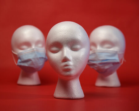 Anti Mask Head Person