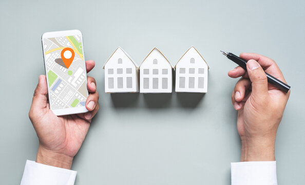 Business property,real estate with location or area concepts.