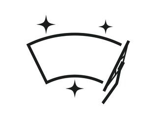 Fototapeta Car wiper illustration obraz