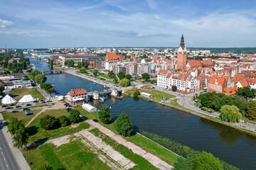 Fototapeta Elbląg, Poland. obraz