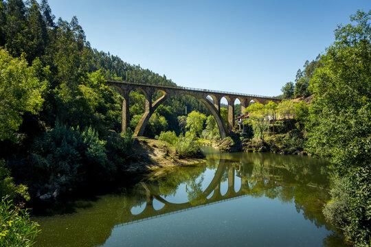 Old railway bridge in Sever do Vouga