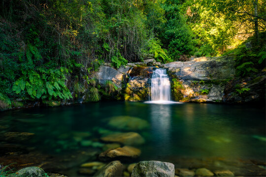 Poço da Cilha waterfall