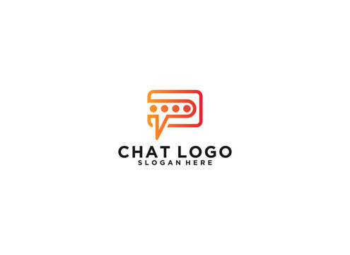 chat logo with a chat bubble logo for those shaped like a wallet which means to save chats well
