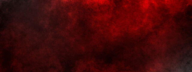 dark saturated black magic background with red fog