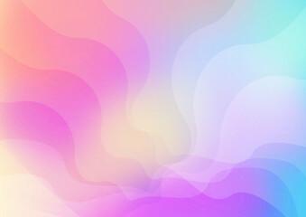 Gradientowe tło - kolorowe neonowe warstwy, wielokolorowe fale. Dynamiczna kolorowa kompozycja na okładki, banery, ulotki, plakaty, broszury, tapeta na blog lub social media story.