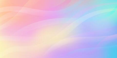 Fototapeta Gradientowe tło - neonowe warstwy, wzlatujące fale kolorowego dymu. Dynamiczna kolorowa kompozycja na okładki, banery, ulotki, plakaty, broszury, tapeta na blog lub social media story. obraz
