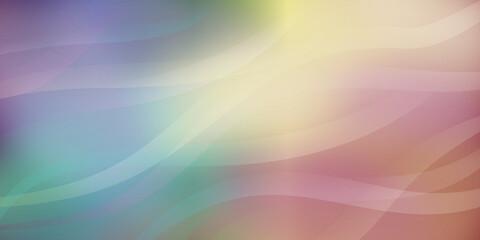 Fototapeta Gradientowe tło - warstwy w kolorach tęczy, wzlatujące fale kolorowego dymu. Dynamiczna kolorowa kompozycja na okładki, banery, ulotki, plakaty, broszury, tapeta na blog lub social media story. obraz