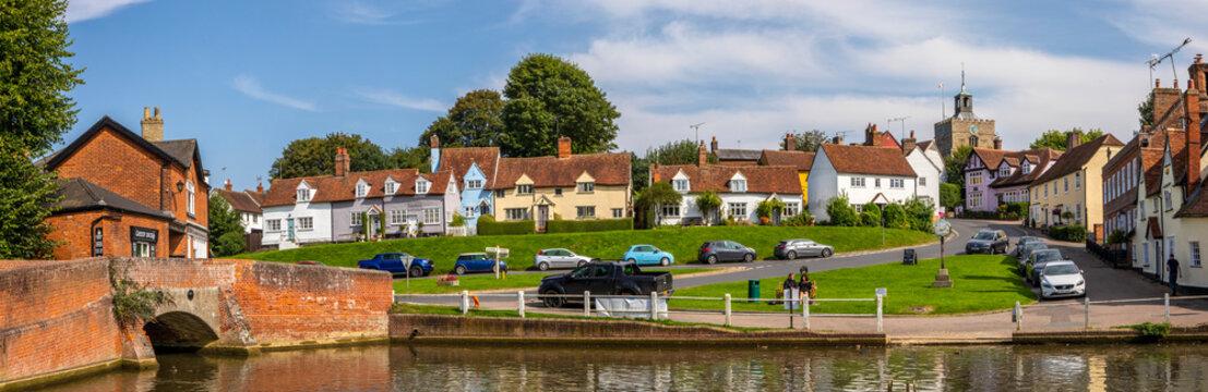 Finchingfield in Essex, UK