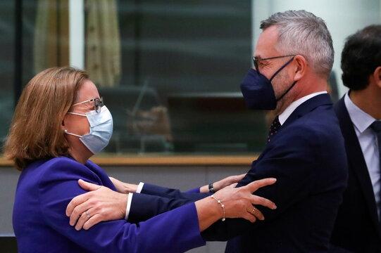 EU ministers meet in Brussels