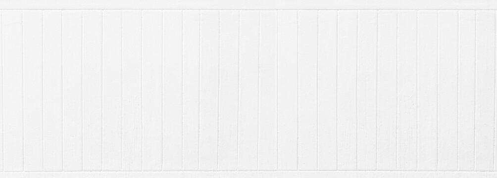 Panorama White Wood texture background.