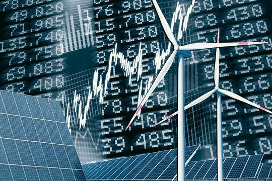 Renewable energy and stock exchange