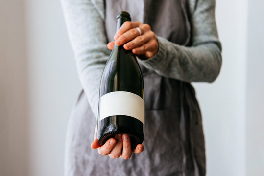 Wine in hands