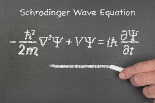 Schrodinger's wave function equation