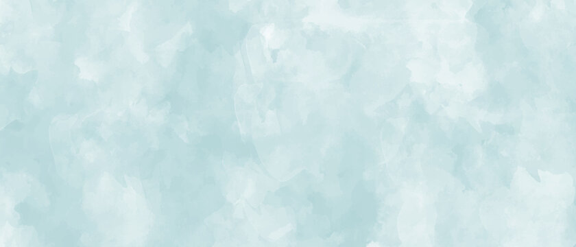 Vector watercolor texture. Hand drawn blue abstract vector illustration for background. Template for design. Vintage grunge surface. Empty blank.