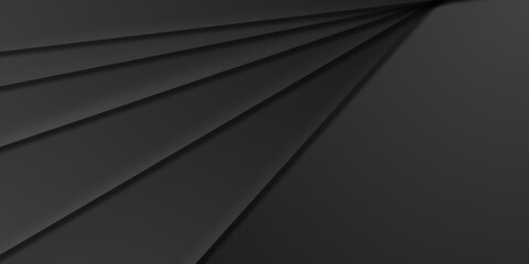 Fototapeta Elegancka matowa ciemna kompozycja do projektowania grafiki, tekstu i wiadomości. Warstwy, światło i cienie - tło dla produktów komercyjnych, biznesowych lub elektronicznych. obraz