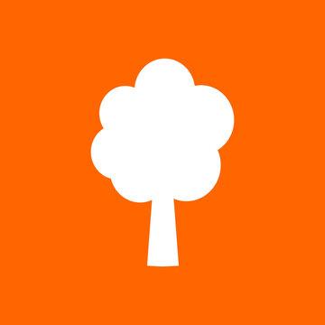 Baum und Hintergrund