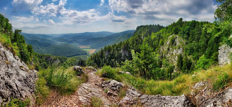 Slovakia - Muranska planina, green mountain landscape
