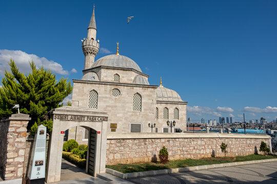 Semsi Pasha Mosque in Uskudar, Istanbul, Turkey.
