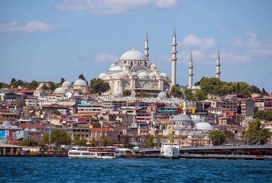 Suleymaniye Mosque, Istanbul,Turkey