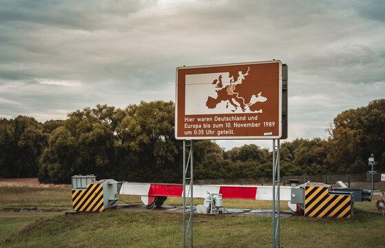 Germany Travel Green Belt Hinking Trail