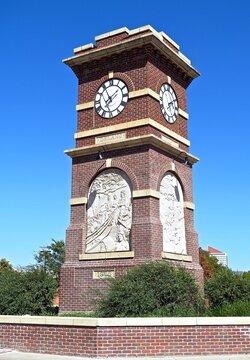Chisholm Trail Monument, Delano, City of Wichita