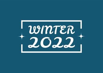 Fototapeta WINTER 2022 obraz