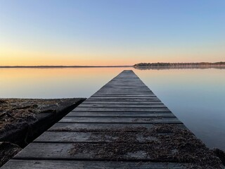 Long Jetty on the Lake