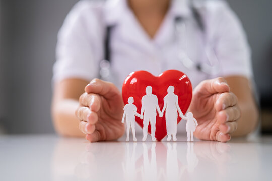 Health And Life Insurance. Heart Protected