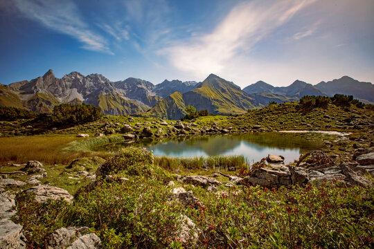 Guggersee - Bergsee - Oberstdorf - Alpen - Allgäu