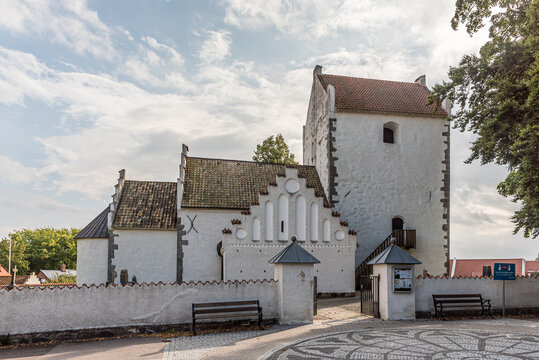 the old medieval church in Kävllinge
