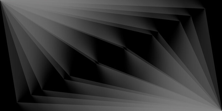 black paper, geometric background, modern wallpaper, wall art, texture, with lines, you can use for ad, product and card, business presentation, space for text