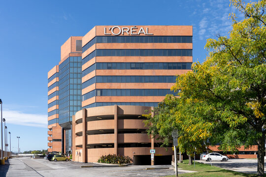 Etobicoke, Toronto, Canada - September 26, 2021: L'Oréal Corporate office in Etobicoke, ON, Canada. L'Oréal S.A. is a French personal care company.